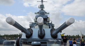 USS North Carolina Battleship Package at Wilmington Hotel