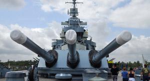 USS North Carolina Battleship Package at Wilmington Hotel